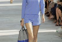 Gingham – The NEW spring trend! / Ready to take in a fresh breath of the NEW SPRING FASHION TREND? Michael Kors, Altuzarra, Diane Von Furstenberg and Oscar de la Renta are showing big thumbs up!