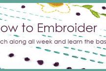 crochet, knitting and needlework