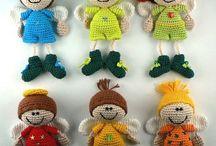 Poupons tricotés