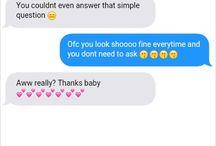 Chanyeol Texting you