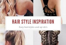 Inspiration | Hair / Inspiration for hair styles and up-do's.  #hairstyles #hair #inspiration