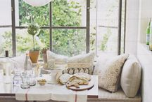 New House Decor Ideas / we will have a large nook, dinning room, entertainment room, play room and family room to decorate and theme. Lots to do!  / by Brittani Morton