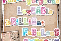 letter- word  printables