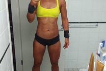 Women Selfies / Fit sexy strong women