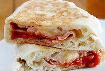 Pizze e focacce - Pane e Gianduia / Pizze, focacce e focaccine
