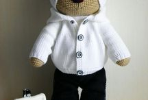 osos con ropa