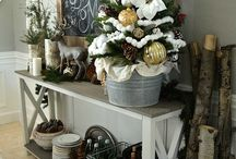 WINTER/CHRISTMAS / Beautiful decor and design ideas for winter and Christmas decorating.