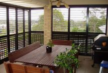 Adjustable Louvres & Shutters / Louvres & shutters allow you to regulate the breeze & natural light in your home, while increasing privacy & weather protection.