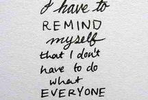 life reminders / by Rosie Vela