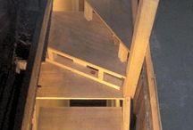 kutilství řemesla / schody