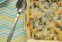 pasta / by Manda Blogs About...