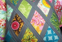 Colourful Projects / Quilts, patchwork, Pillows, pom poms