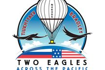 Two Eagles Balloon Team / World Record Balloon Flight From Japan to North America. Pilots Troy Bradley and Leonid Tiukhtyaev. #TwoEagles #WorldRecordAttempt