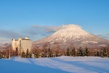 Winter sports (ウィンタースポーツ) / Japan has great powder snow December - March. Why not discover the country, and enjoy winter sports, all in one trip?