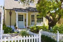 Dream Cottage / Just a little place by the sea where I can write and read and dream and walk in blessed solitude.