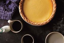 Pie with Vanilla / All recipes include vanilla in some form, whether beans, extract, ground beans (powder), syrup, infused alcohol, or something we haven't thought of yet!