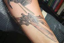 Tie fighter tattoo