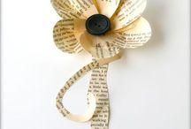 book/magazine/paper crafts
