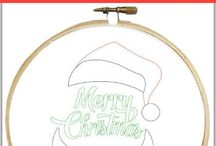Holiday Embroidery Patterns