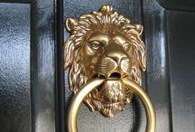 Knock Knock....door knockers to make a statement