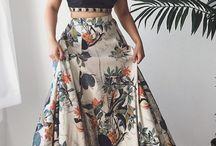 crop top skirt