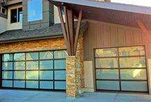 Cool Garage Door Looks / Cool designs and styles of garage doors.