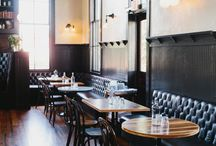restaurants & cafes / dining out decor