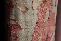 La Chair / Textures couleurs et matières