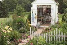 Green Dreams & Porch Plans / garden, porch, patio, etc