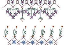 Quilts - Crazy Quilt Stitches