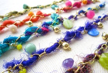 Sari yarn inspiration