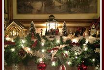 deco de Noël pour la cheminée