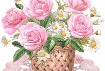 GLITTER FLOWERS