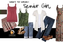 What To Wear Guide - Senior Girls