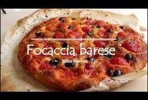 Pizza barese con lievito madre