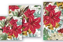 Joyous Christmas / Joyous Christmas by Michel Design Works  Ring out the old, ring in the new with golden bells, dramatic blooms, vivid greenery, and a heavenly scent.  Scent: Holiday white floral
