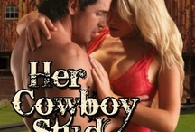 Her Cowboy Stud / Trace McGonagall's quiet life on his Houston stud ranch is shaken up when gorgeous Macy Veralta arrives to claim an inheritance left to her in his uncle's will. Trace sees her as just another gold digger, but he also can't resist her curvy body. When she hints at being the perfect submissive to his Dom, he has to have her.  More: http://randialexander.com/books/cowboy-stud/ / by Randi Alexander