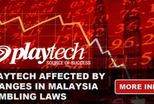 Playtech affected by changes in malaysia