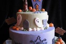 hunted house cake