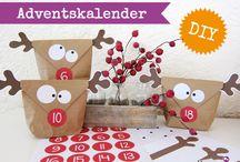 DIY: Adventskalender / Bastelideen für Adventskalender