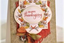 Card-Thanksgiving / by Dianne Houseman