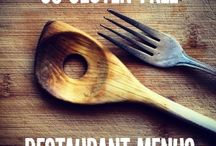 GF & SF Dining out with food intolerances / Traveling, restaurants, fast food menus for; Wheat, Corn, Egg, Dairy free if possible