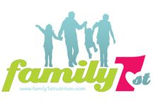 Our new look! / Visit our website: http://www.family1stnutrition.com/ We are getting more and more passionate about empower parents (and all individuals!) to live healthier lives and raising healthy children!!