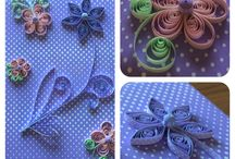 Quilling flowers / Quilling flowers for decoration