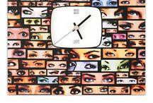 digital wall clocks / digital printed pvc wall clocks