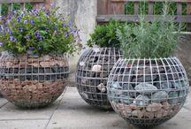 Габионы на Даче Garden / Garden Габионы Камень Фигуры Вазоны
