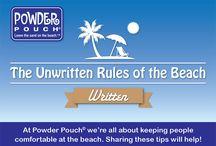 Beach Tips / #PowderPouch
