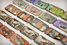 altered art tickets