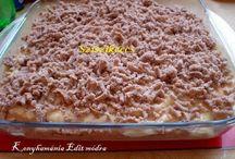 Gesztenyés sütemények