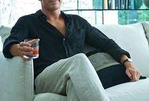 Men's linen pants / Outfit